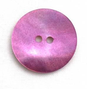 Bilde av Knapp, 23 mm, rund perlemor syrin
