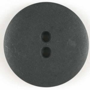 Bilde av Knapp, 18 mm, rund matt svart