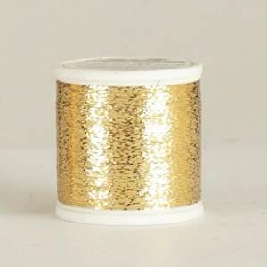 Bilde av Metallic Madeira effektgarn 325 Gull