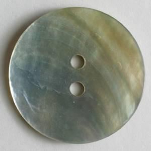 Bilde av Rund knapp, 15 mm, perlemor