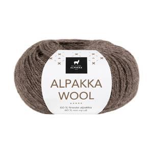 Bilde av DSA Alpakka Wool 506 Brunmelert garn