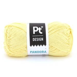 Bilde av Pandora 201 Lys gul Pt design Rauma garn
