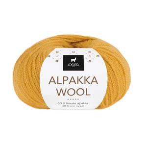 Bilde av DSA Alpakka Wool 511 Maisgul garn