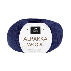 Bilde av DSA Alpakka Wool 525 Marine garn