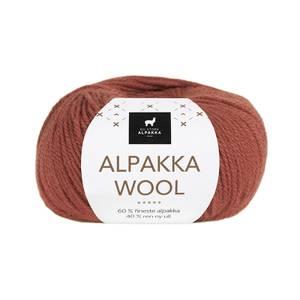 Bilde av DSA Alpakka Wool 532 Brent rust garn