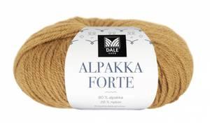 Bilde av Dale Alpakka Forte 718 Maisgul melert garn