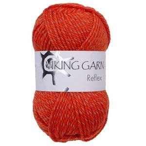Bilde av Viking reflex 451 oransje refleks garn