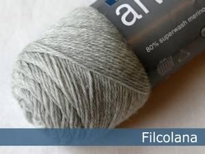 Bilde av Arwetta Classic 957 Very Light Grey melert Filcolana