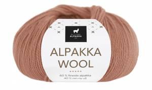 Bilde av DSA Alpakka Wool 544 Dus aprikos garn