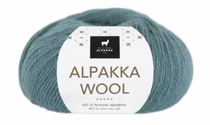 Bilde av DSA Alpakka Wool 547 Lys denim garn