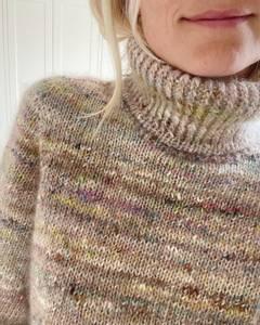 Bilde av Terrazzo Sweater PetiteKnit strikkeoppskrift*