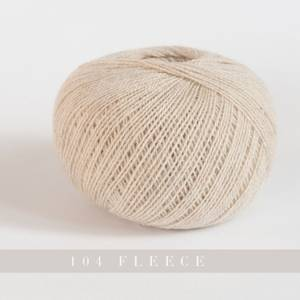 Bilde av Yarntelier Cashmere Lace 104 Fleece garn