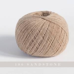Bilde av Yarntelier Cashmere Lace 106 Sandstone