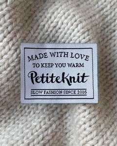 Bilde av Made With Love to Keep You Warm label PetiteKnit