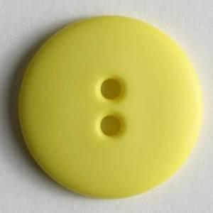 Bilde av Knapp, 15 mm, rund matt gul