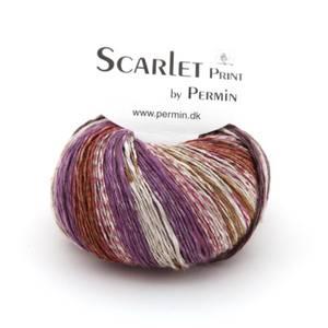 Bilde av Scarlet Print 10 Lilla/rust