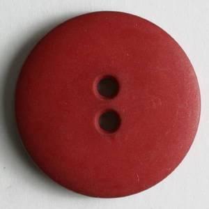 Bilde av Knapp, 15 mm, rund matt burgunder