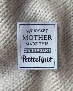 Bilde av My Sweet Mother Made This - label PetiteKnit