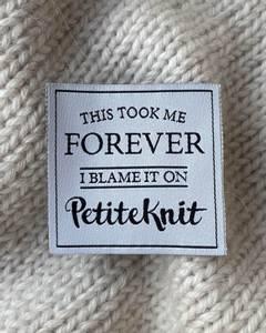 Bilde av This Took Me Forever - label PetiteKnit