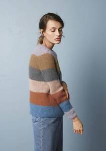 Bilde av 1914 3 Palett-genser enkeltoppskrift Sandnes garn*