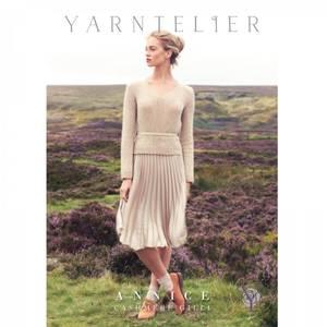 Bilde av Yarntelier Annice sweater Cashmere Gilli