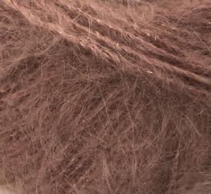 Bilde av Dolce glitter 337 Gammelrosa garn Cewec