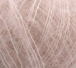 Bilde av Permin Angel mohair 55 Sart rosa garn