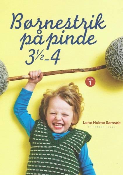 1 Børnestrik på pinde 3 1/2 - 4 (2 - 8 år)