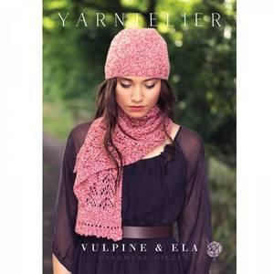 Bilde av Yarntelier Vulpine scarf & Ela beanie Cashmere Gilli