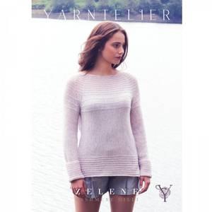 Bilde av Yarntelier Zelene sweater Cashmere Gilli