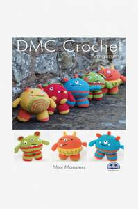 Bilde av DMC Crochet 15049 Mini monstre Amigurumi