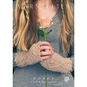 Bilde av Yarntelier Roses mittens Cashmere Gilli
