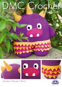 Bilde av DMC Crochet 15047 Monster Amigurumi