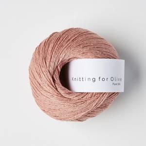 Bilde av Pure Silk Rabarbersaft Knitting for Olive