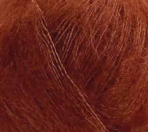 Bilde av Permin Angel mohair 25 Rust garn
