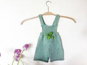 Bilde av Baby shorts Knit Colorful oppskrift