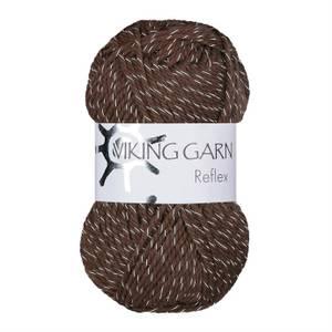 Bilde av Viking reflex 408 brun refleks garn