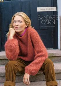 Bilde av 117 Carla genseren oppskrift Sandnes garn*