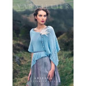 Bilde av Yarntelier Ariella shawl Cashmere Lace