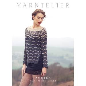 Bilde av Yarntelier Aquila sweater Cashmere Gilli