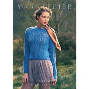 Bilde av Yarntelier Paloma sweater Cashmere Gilli