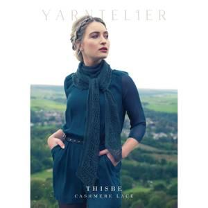 Bilde av Yarntelier Thisbe Scarf Cashmere Lace