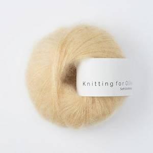 Bilde av Soft Silk Mohair Blid fersken Knitting for Olive