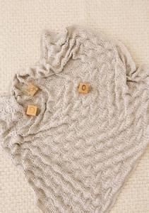 Bilde av Colette babyteppe i Mandarin Petit strikkepakke