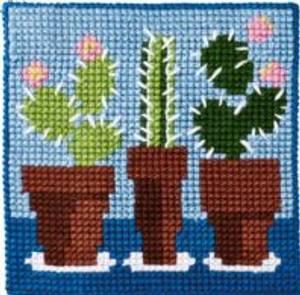 Bilde av Kits for Kids 9324 Kaktus Permin broderi