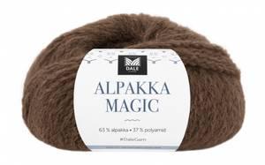 Bilde av Dale Alpakka Magic 334 Varm brun garn
