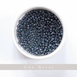 Bilde av Perler Yarntelier Gunmetal Beads