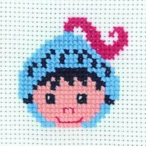 Bilde av My first kit Ridder 8 x 8 cm Broderi for barn Permin