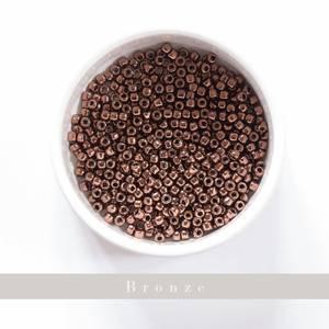 Bilde av Perler Yarntelier Bronze Beads