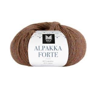Bilde av Dale Alpakka Forte 725 Brun melert garn